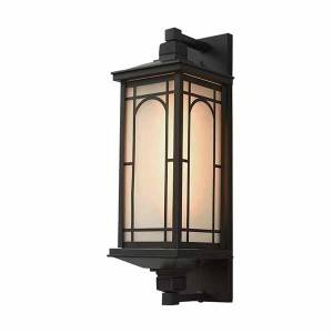Vintage Waterproof  LED Wall Lamp Garden Wall Lamps decorative glass shade outdoor wall light