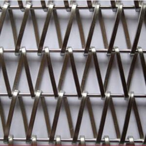 OEM/ODM Supplier Mesh Facade Architecture - XY-A3245B stainless steel Metal Fabric Divider – Shuolong