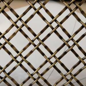 XY-2222G Metal Mesh Fabric for Screen&Cabinetry