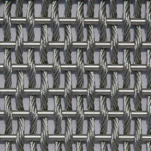 XY-M2025 Stainless Steel Flexible Architectural Mesh for Column Cladding