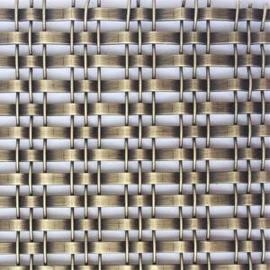 Excellent quality Metal Mesh Partiton - XY-1513G Antique Plated finshed Flat Wire for Cabinet – Shuolong