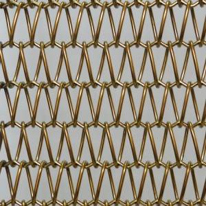 2020 China New Design Decorative Metal Screen Mesh - XY-A1615 Metal Fabric Partition – Shuolong