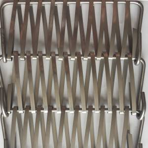 Best quality Woven Metal Fabric - XY-A7120 Stainless Steel spiral mesh for solar management – Shuolong