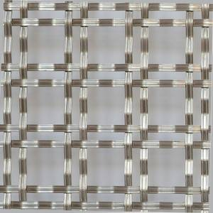 Wholesale Price Woven Mesh Patterns - XY-4005 Double Flat-wire Mesh for Entertainment Centers – Shuolong