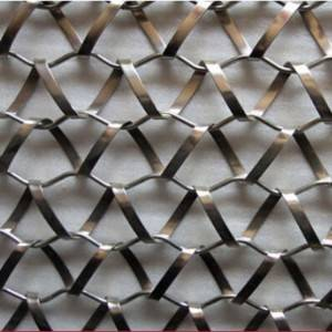 China Cheap price Gkd Metal Fabrics - XY-A3338B Stainless Steel Flexible Mesh for Wall Decoration – Shuolong