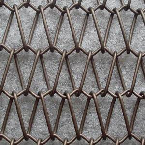 XY-A2515 Decorative Sprial Metal Mesh for Exterior Safety