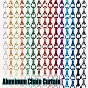 Chain Link Mesh for Interior Decorative Curtain