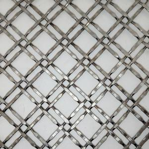 Wholesale Price Woven Mesh Patterns - XY-2222 Metal Mesh Fabric for Decorartive Screen – Shuolong