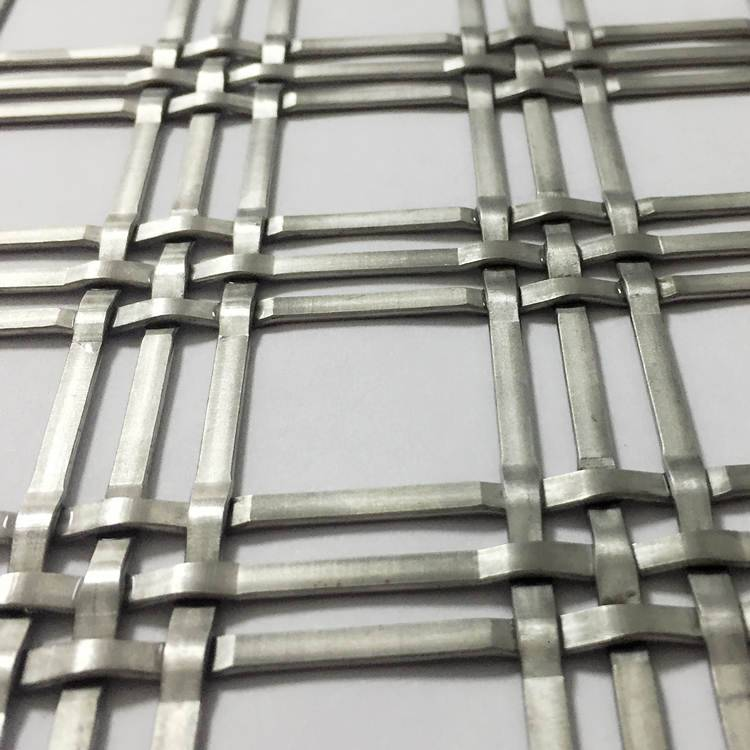 Wholesale Price China Steel Mesh Cladding - XY-4435 Decorative Mesh for Building Exterior Wall – Shuolong