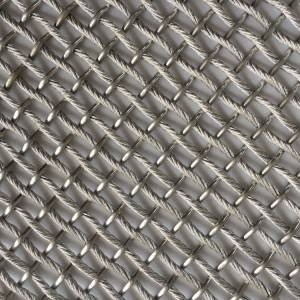 Wholesale Elevator Panel - XY-ZH2568 Metal Mesh for Column decoration – Shuolong