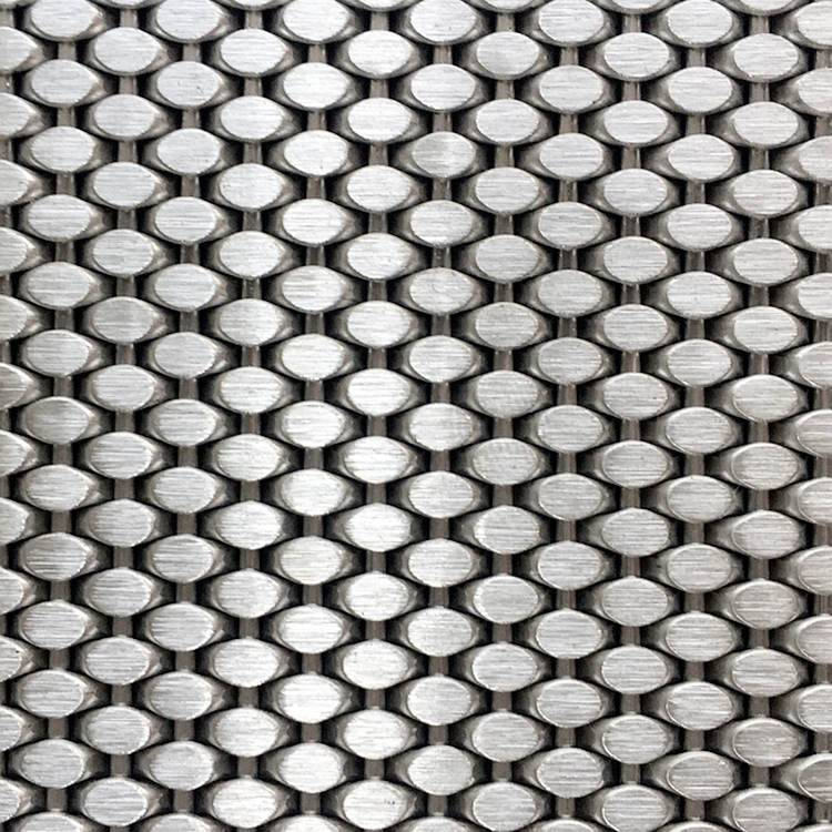 Good quality Bonded Metal For Elevator Interior – XY-1548Metal Mesh Screen for Interior Wall Cladding – Shuolong