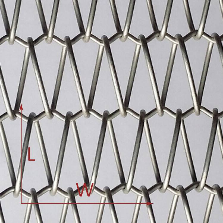2. Metal Fabric Facades
