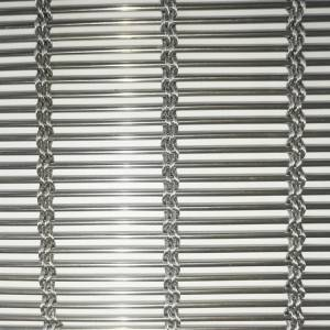 Factory wholesale Woven Wire Mesh Suppliers - XY-M4235 Bright Stainless Steel for Architectural Canopies – Shuolong