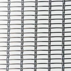 PriceList for Glass Laminated Metal Mesh - XY-R-4545SS Metal Mesh for Partition – Shuolong