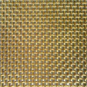 Good Quality Partition Mesh - XY-2027P Decorative Flat Wire Mesh for Metal Divider – Shuolong