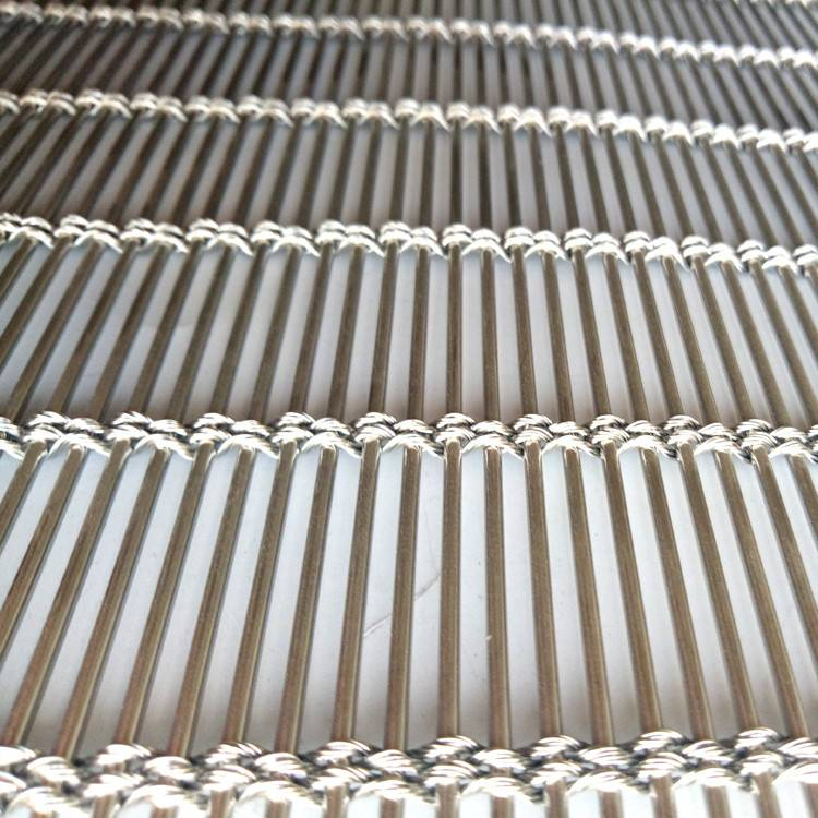 High Quality Stainless Steel Mesh Fabric - XY-M4240 Exterior Facade Metal Mesh for Building – Shuolong