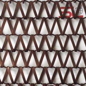 Cheap price Facade Mesh - XY-A-SE LINK WEAVE MESH for facade mesh cladding – Shuolong