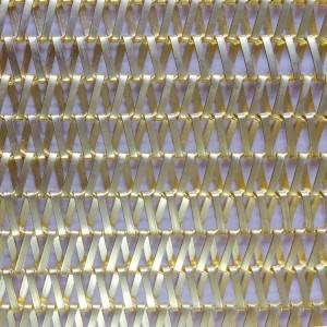 Factory Price Architectural Metallic Fabrics For Building Facades – XY-A5013T METAL FABRICS SPIRAL for Residential design – Shuolong