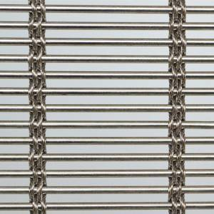 2020 wholesale price Metal Mesh Facade - XY-M3624 Stainless Steel Facade Woven Mesh for Hotel – Shuolong