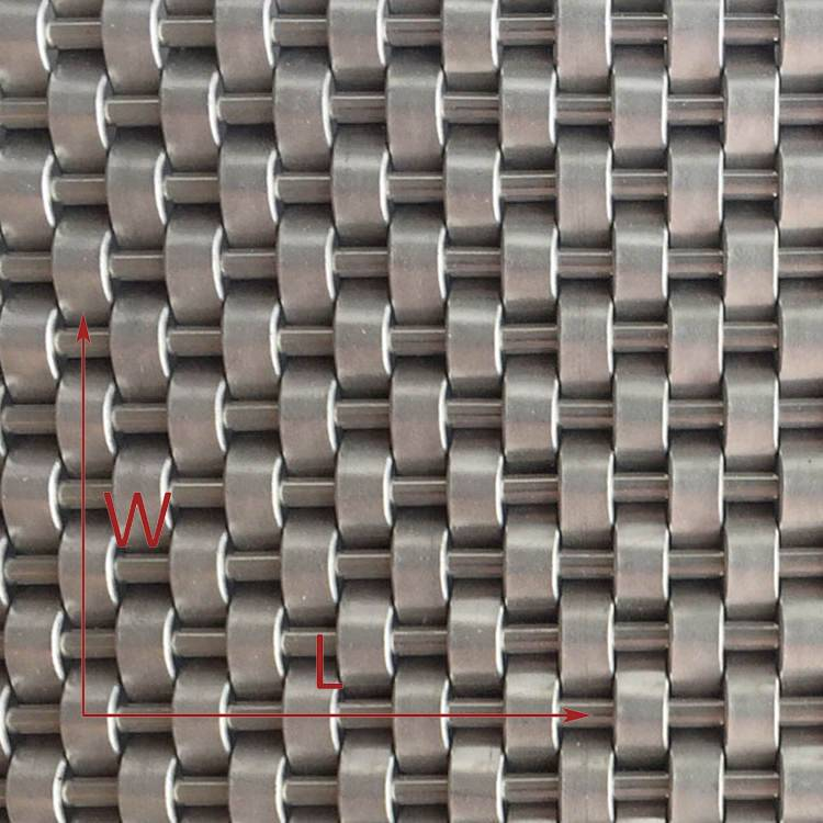 XY-1405 Decorative Metal Mesh for Interior Wall Cladding 1 (2)