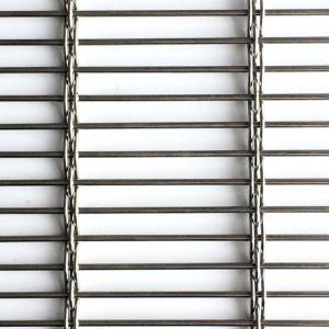 Factory Price Architectural Metallic Fabrics For Building Facades – XY-3831 Metal Mesh Screen – Shuolong