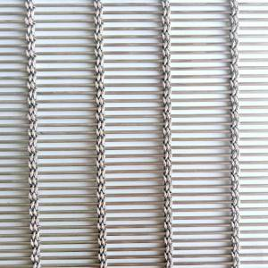 Wholesale Dealers of Brass Wire Mesh - XY-M4240 Exterior Facade Metal Mesh for Building – Shuolong