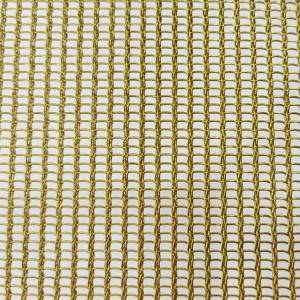 XY-R-3165T2 Glass Laminated Metal Mesh for Interior Design