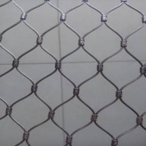 2020 High quality Flexible Metal Mesh - STAINLESS STEEL CABLE MESH – Shuolong