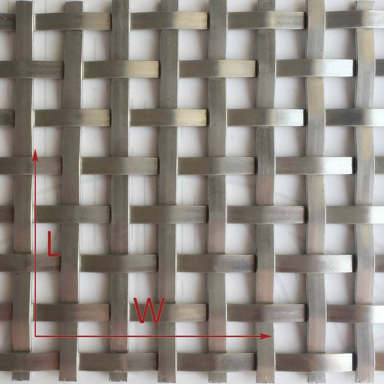 2. XY-5127 Flat Architectural Wire Mesh