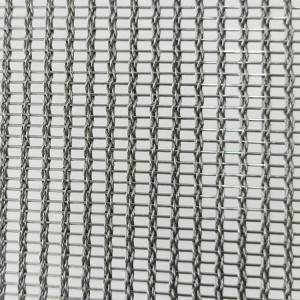 2020 High quality Wire Mesh Glass - XY-R-3165 Stainless Steel Woven Mesh for Partition – Shuolong
