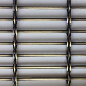 2020 Good Quality Steel Mesh Facade - XY-8914G Antique brass Metal Mesh for Divider Deoration – Shuolong