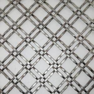 XY-2225 Stainless Steel Metal Mesh Screen Blaustrades
