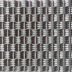 XY-4215 Architectual Wire Mesh Fabrication for Elevator Cladding