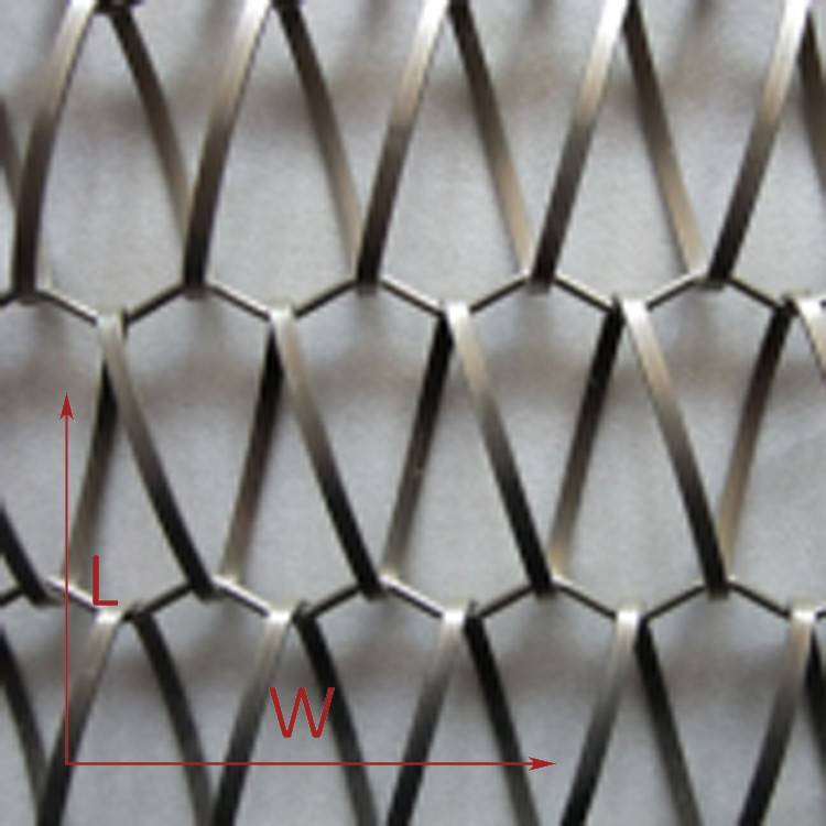2. Metal Weave Mesh for Parking Garage Facade  (3)