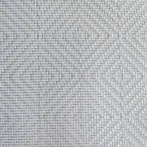 Bottom price Brass Mesh - XY-R-2825SS  Tempered Glass Decorative Wire Mesh – Shuolong