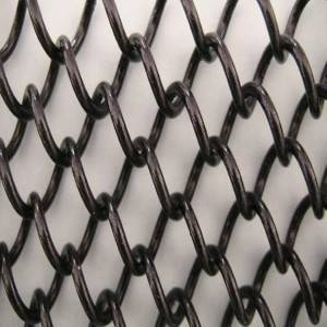 XY-AG1580 Black Metal Mesh for Fireplace Decoration
