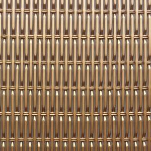 Hot-selling Expanded Stainless Steel Facade Mesh - XY-1228P Coppper Color  Aluminum Architectural Wire Mesh – Shuolong