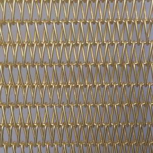 2020 China New Design Architectural Metal Mesh - XY-A1015T Brass Spiral Mesh – Shuolong