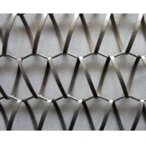 XY-A3245B Metal Weave Mesh for Parking Garage Facade