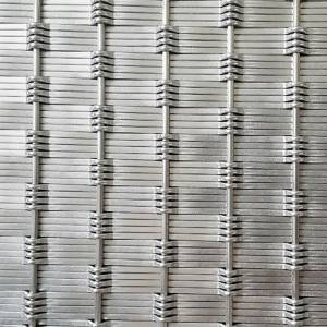 Manufacturer for Mesh Cladding Panels - XY-D2175 Woven Metal Mesh Pattern for Wall Cladding – Shuolong