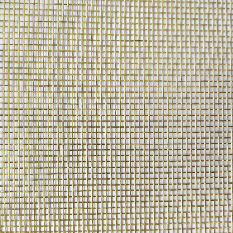 Chinese Professional Wire Cloth - XY-R-09G Golden Art Mesh for Glass Laminated – Shuolong