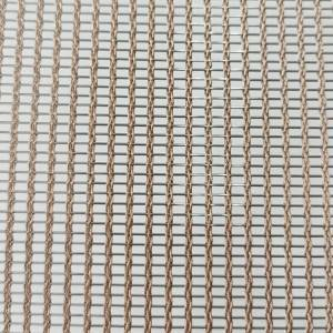 Fast delivery Furnishing Glass - XY-R-3165ST Metal Mesh for Glass Laminated – Shuolong