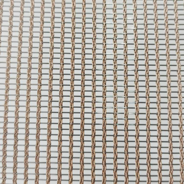 Fast delivery Furnishing Glass - XY-R-3165ST Metal Mesh for Glass Laminated – Shuolong Featured Image