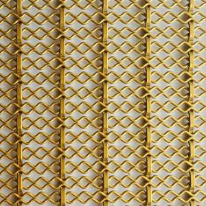 China wholesale Metal Divider - XY-2510 Deco Metal Architectural Mesh for Cabinetry – Shuolong