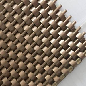 XY-1405 Decorative Metal Mesh for Interior Wall Cladding