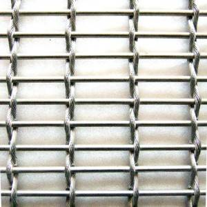XY-M2752 Facade Woven Wire Fabric for Exterior Building