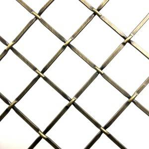 XY-C1 Kitchen Furniture Diamond Metal Mesh