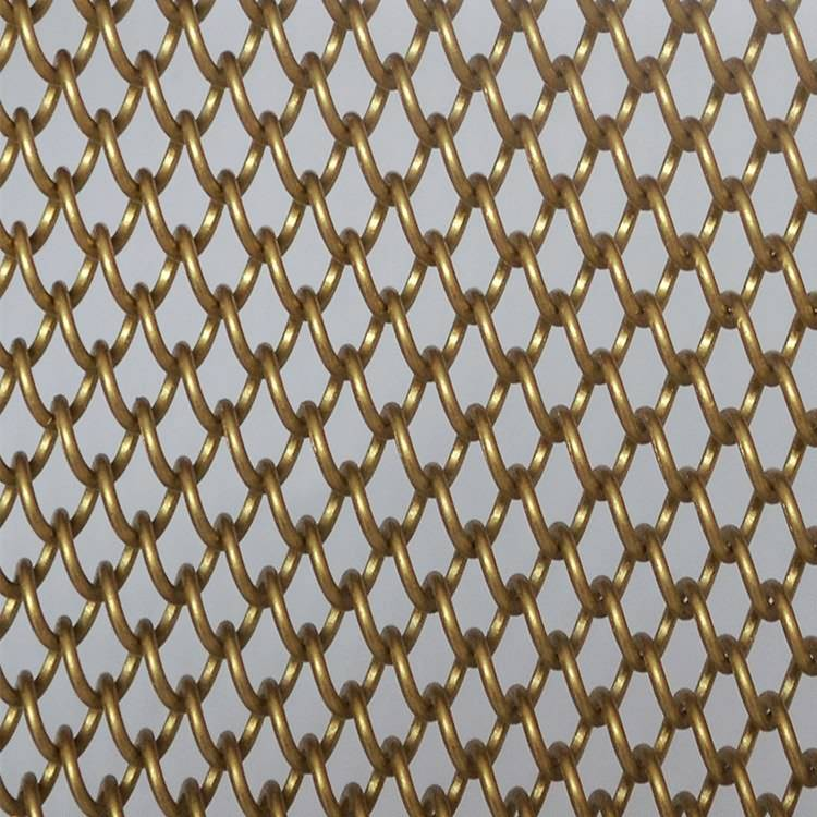 China Cheap price Metal Curtain - XY-AG1242 Decorative Metal Coil Drapery – Shuolong
