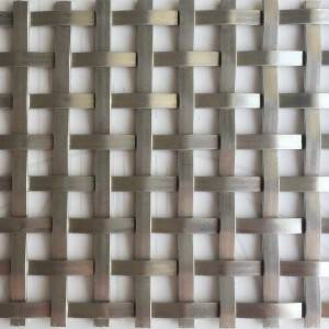 XY-5127 Flat Architectural Wire Mesh