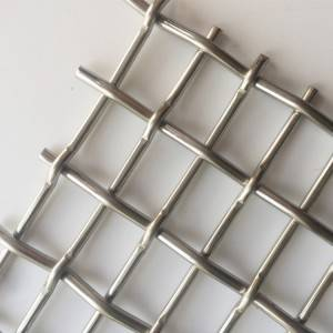 Lowest Price for Flat Wire Woven Mesh. - XY-6276 Parking Garage Mesh – Shuolong